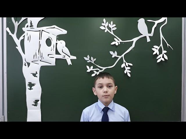 Изображение предпросмотра прочтения – МаксимКуру читает произведение «Весенняя гроза (Люблю грозу вначале мая…)» Ф.И.Тютчева