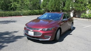 Новый Chevrolet Malibu 2016 1.5 turbo на русском