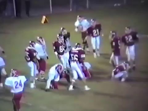 1989 Stilwell Indians at Muldrow Bulldogs Football
