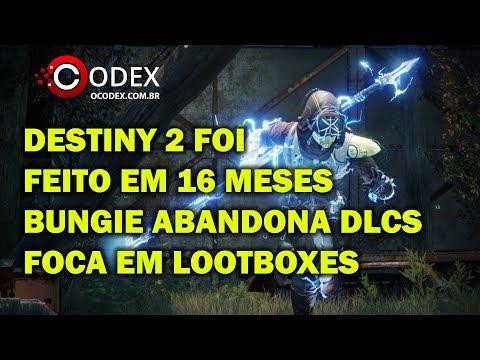 Bungie Fez Destiny 2 em 16 Meses e Desiste de DLCs para Focar em Lootboxes thumbnail