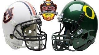 #1 Auburn vs #2 Oregon [2011 BCS National Championship]
