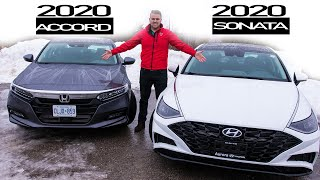 The 2020 Hyundai Sonata Over The 2020 Honda Accord? Head to Head!