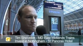 Tim Shoveller, MD, East Midlands Trains, at Invest in Nottingham Day London 2011