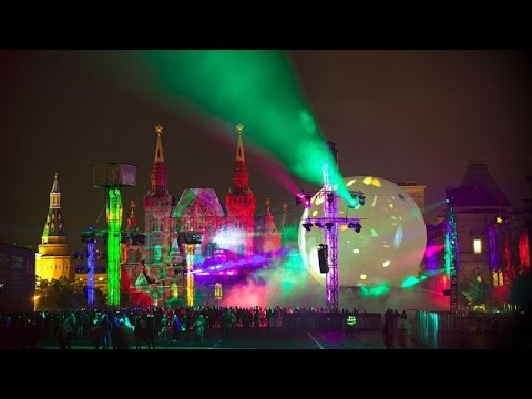 LIVE: Opening of 'Circle of Light' festival in Moscow