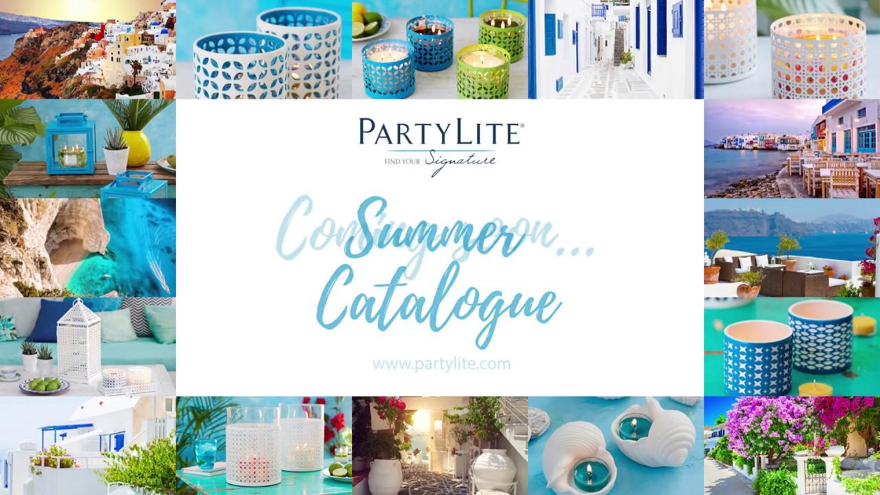 Partylite Summer 2017 Catalogue