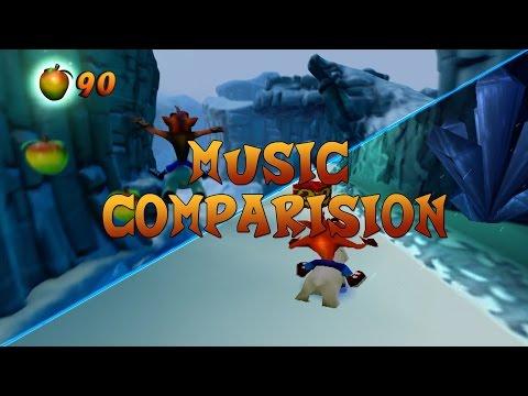 Bear It - Bear Down - Totally Bear | Music Comparison | Crash Bandicoot 2 vs N-Sane Trilogy