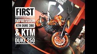 Kenalan dengan KTM Duke 390 dan Duke 250 Terbaru