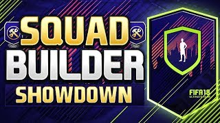 FIFA 18 SQUAD BUILDER SHOWDOWN!!! SPECIAL PACK EDITION!!! Fifa 18 Path To Glory SBSD Special