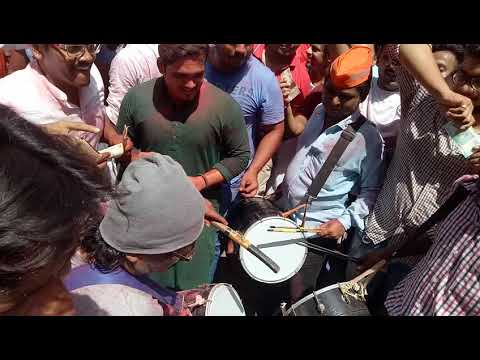 Girgaon cha raja 2017   Milind kachi Dhol   jay jay Maharashtra song