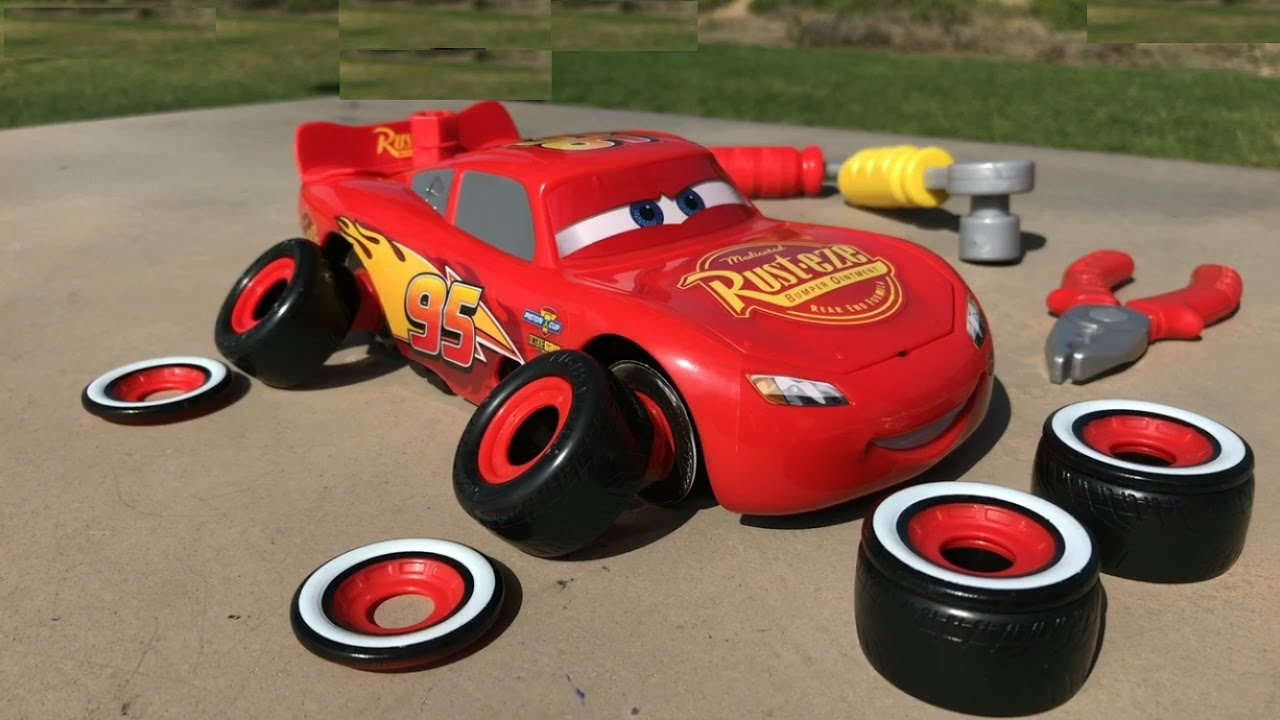 Disney Cars Toys Youtube: Disney Cars 3 Toys Lightning McQueen Thomas And Friends