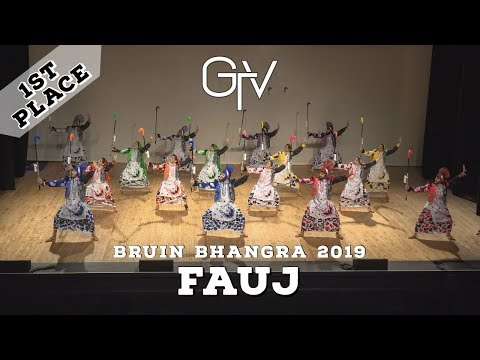 FAUJ – First Place – Bruin Bhangra 2019