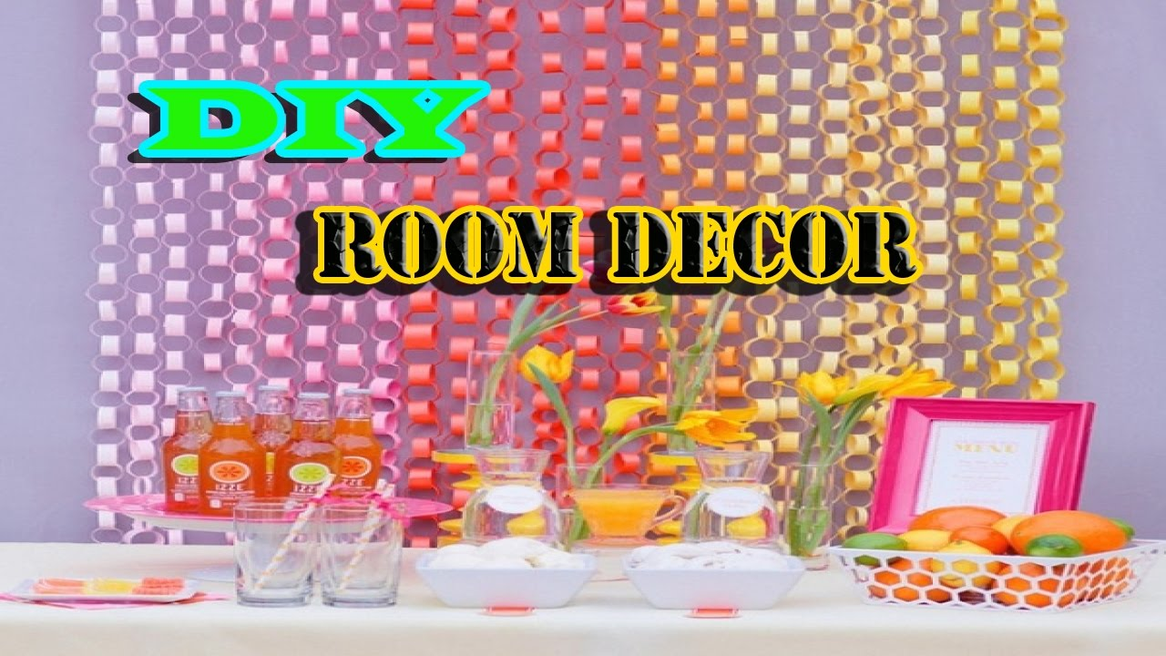 Paper Decorations For Walls Easy Paper Decorations For Room YouTube
