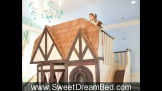 Princess Room | Girls Princess Furniture | Girls Princess Castle Bed| Girls Furniture|