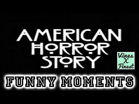 American Horror Story AHS Funny Moments Crack Humor Pt:1