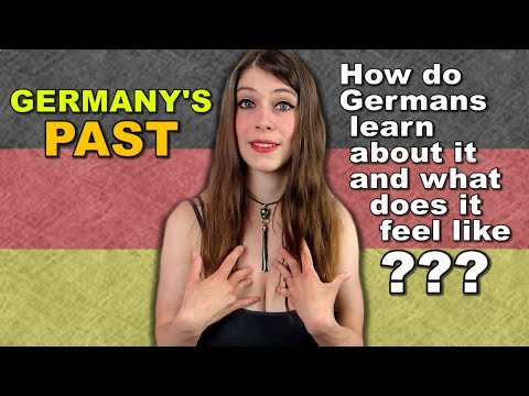 How does LEARNING ABOUT GERMANY'S PAST feel to GERMANS ???
