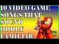 watch he video of 10 Video Game Songs That Sound Oddly Familiar