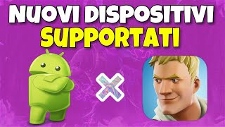 Fortnite android - TUTTI I DISPOSITIVI COMPATIBILI !!