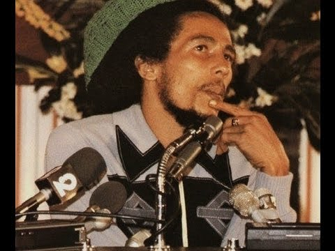 Bob Marley - UN Peace Medal Acceptance Speech 06/15/78 (Footage)