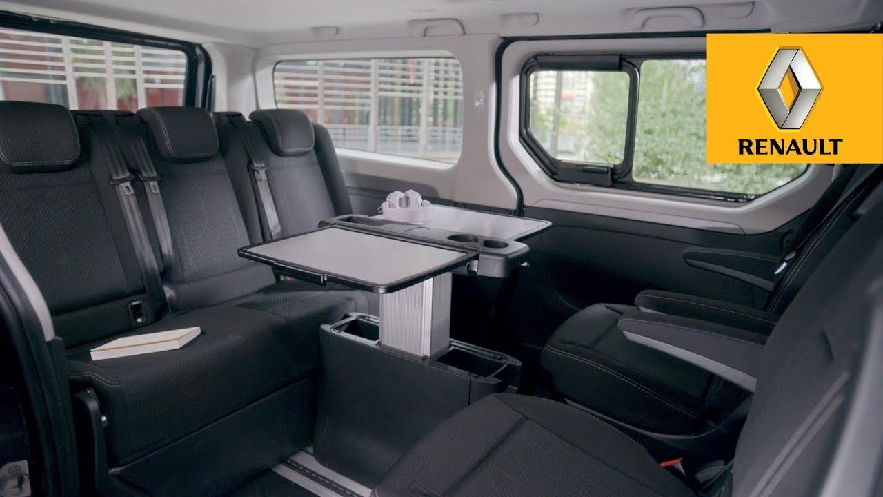 renault trafic spaceclass escapade youtube. Black Bedroom Furniture Sets. Home Design Ideas