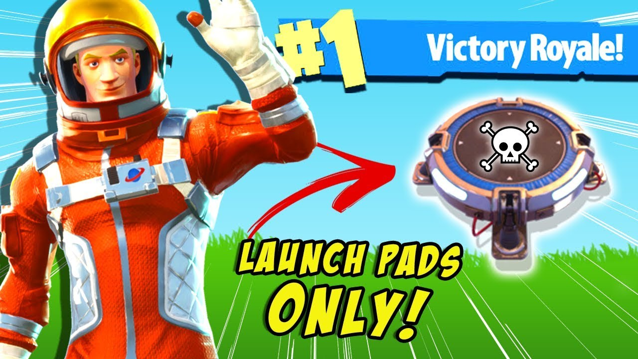 Meme Pad Launch Pad Challenge In Fortnite Battle