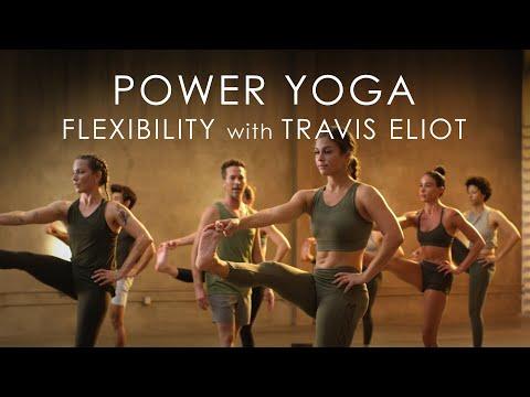 "FULL Power Yoga ""Flexibility"" Class (60min.) with Travis Eliot - Level Up 108 Program"