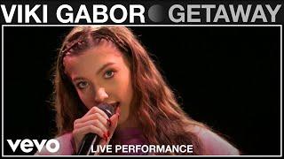 Viki Gabor - Getaway - Live Performance | Vevo
