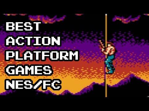 Best Action-Platform Games for NES/Famicom  
