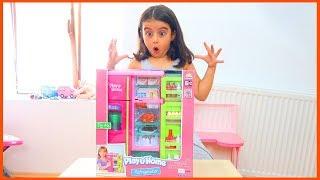 Play Home Oyuncak Buzdolabı Seti Açtık, Oynadık l Oyuncak Açma Videoları