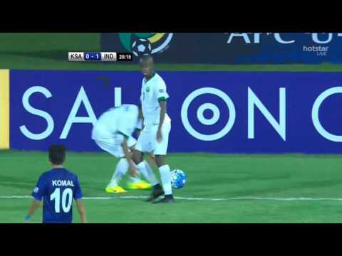India vs Saudi Arabia   AFC U-16   First half