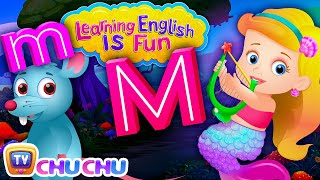 ChuChu TV Learning English Is Fun™ | Alphabet M Song | Phonics & Words For Preschool Children