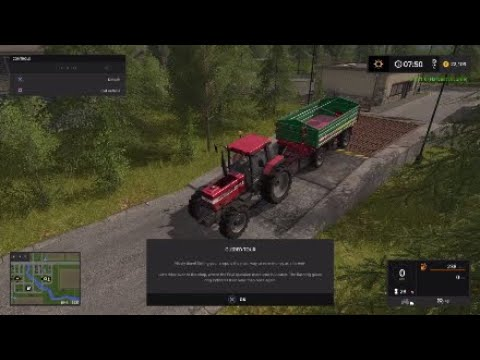 Dumping my 1st load - Farming simulator 17: Platinum edition #2