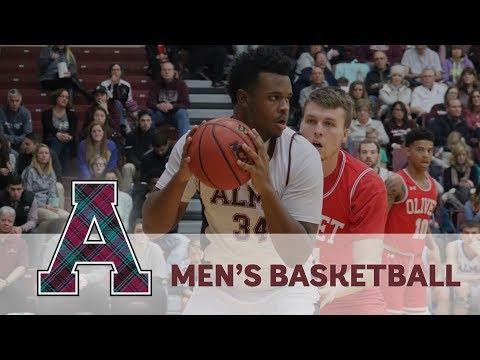NCAA Division III Men's Basketball - Alma College vs. No ...