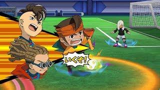 Inazuma Eleven Go Strikers 2013 Real Inazuma Vs Sekai Senbatsu Kai Wii 1080p (Dolphin/Gameplay)