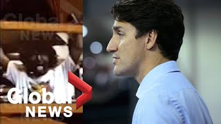 Trudeau responds to blackface video obtained by Global News | FULL