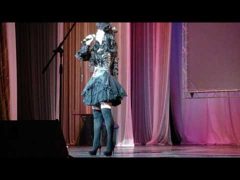 Zhenka-san(ShaKiGumi Cosband) - Lacrimosa on russian language - AniCon 2010 - Karaoke