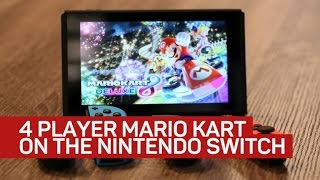 Mario Kart 8 Deluxe is the first great multiplayer game for Nintendo Switch
