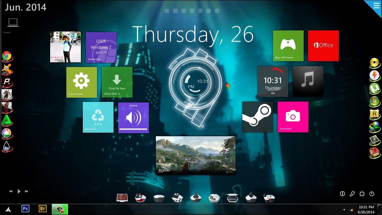 Windows 7 PC Customized + Download Links