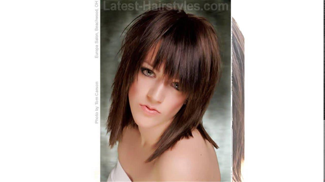 Choppy Layered Medium Length Hairstyles
