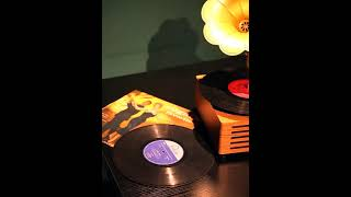레트로 갬성캠핑소품 LP 턴테이블 유럽식 축음기 블루투…