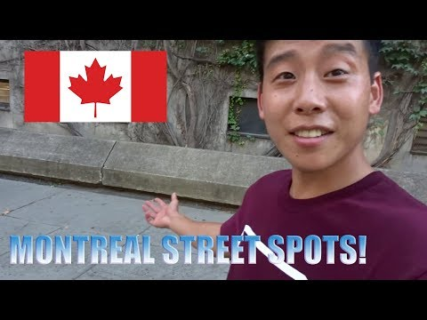 MY FIRST TIME IN CANADA | BMX in Montreal, Quebec