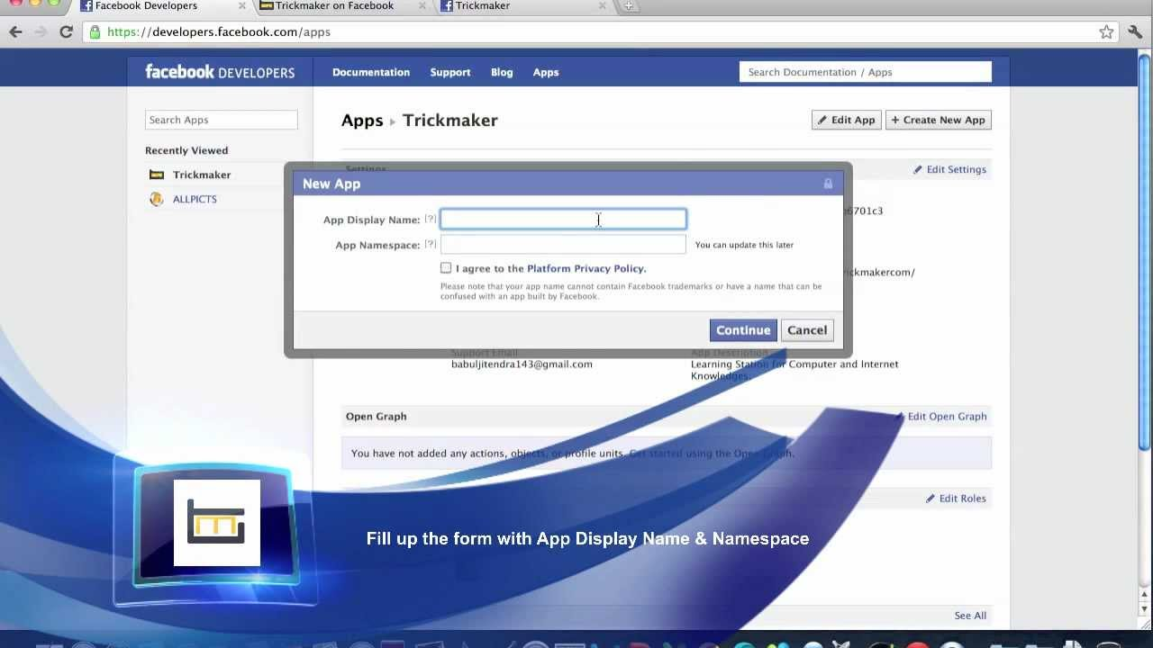 Facebook-App-Website