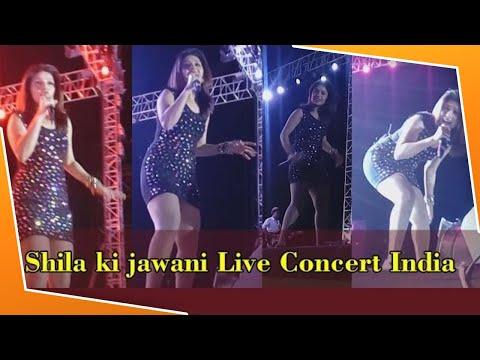 """Sheila Ki Jawani"" Amazing Sing & Performance By ""Sunidhi Chauhan"" || Ahmedabad"