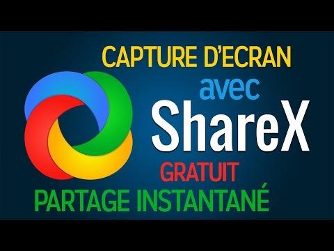 💾 ShareX - Capture d'écran personnalisée, upload et partage en un clic!