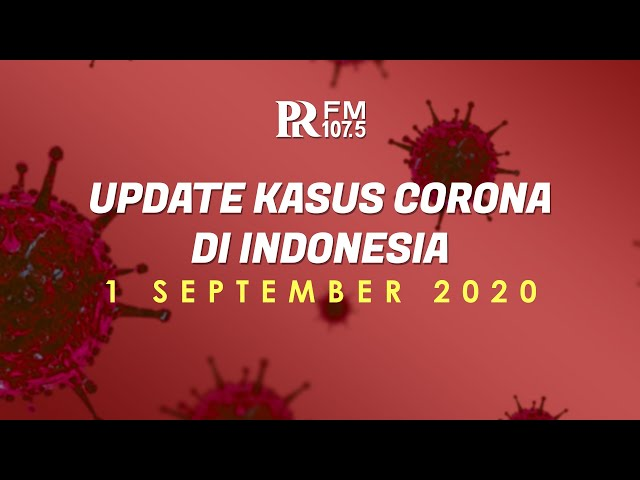 UPDATE Kasus Corona di Indonesia 1 September 2020