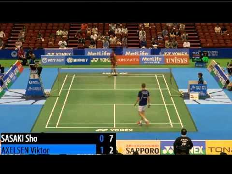 HD QF Lin Dan vs Sho Sasaki 2014 China Open Premier from YouTube · Duration:  1 hour 9 minutes 6 seconds