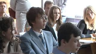 Владимир Мякуш провел первый в этом учебном году
