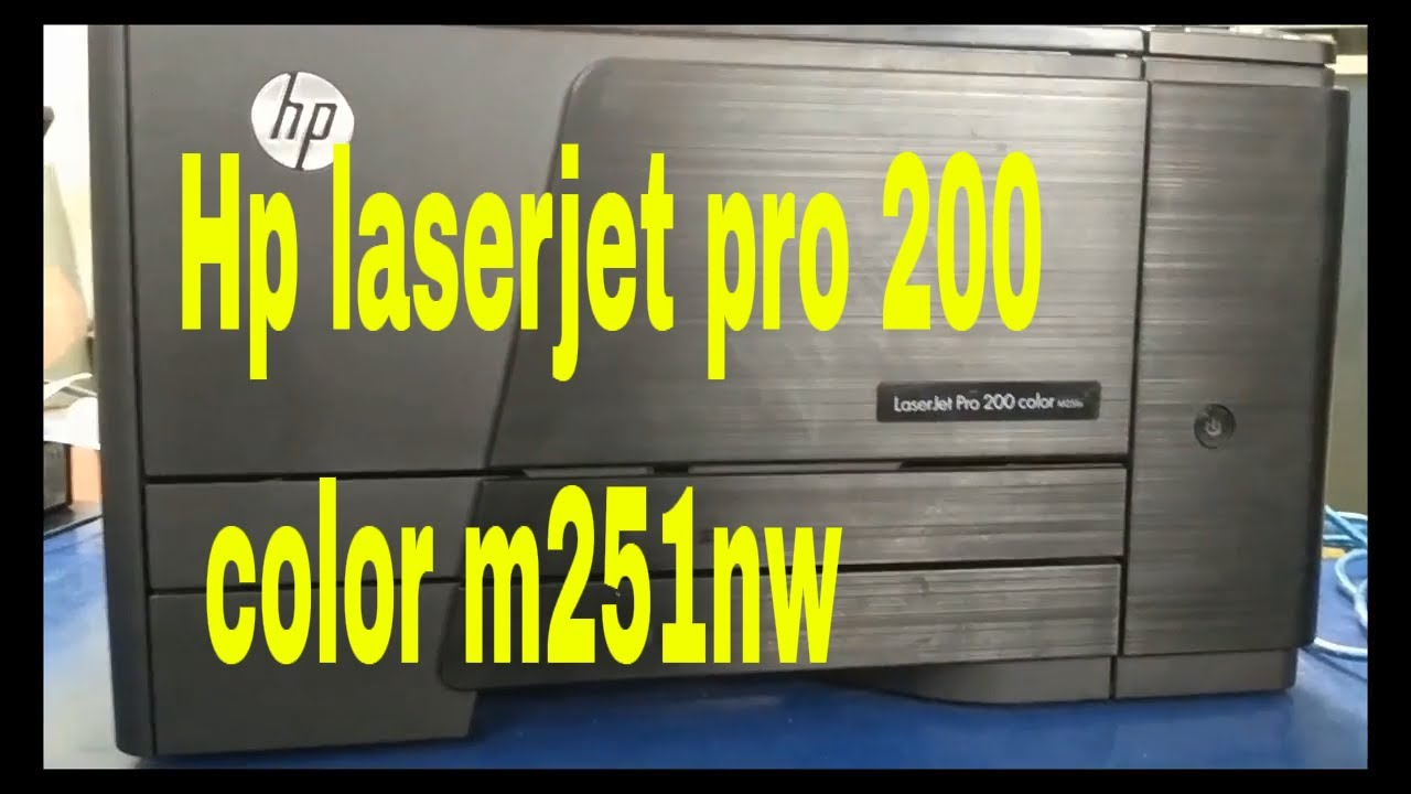 HP LASERJET 200 COLOR M251 PCL6 DRIVERS FOR WINDOWS VISTA