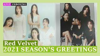Unboxing Red Velvet [2021 SEASON'S GREETINGS] 레드벨벳 2021 시즌그리팅 Kpop Unboxing 케이팝 언박싱 goods