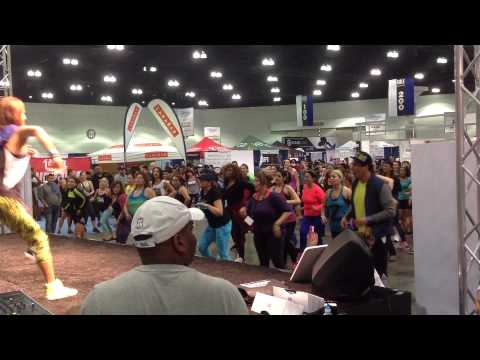 Loving The Zumba Moves Moments From LA FitExpo Every Way Woman