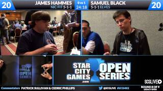 SCGMKE - Legacy - Round 8 - Sam Black vs James Hammes